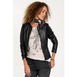 Fake-Lederjacke ESTELLE
